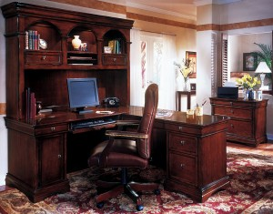 mahogany-office